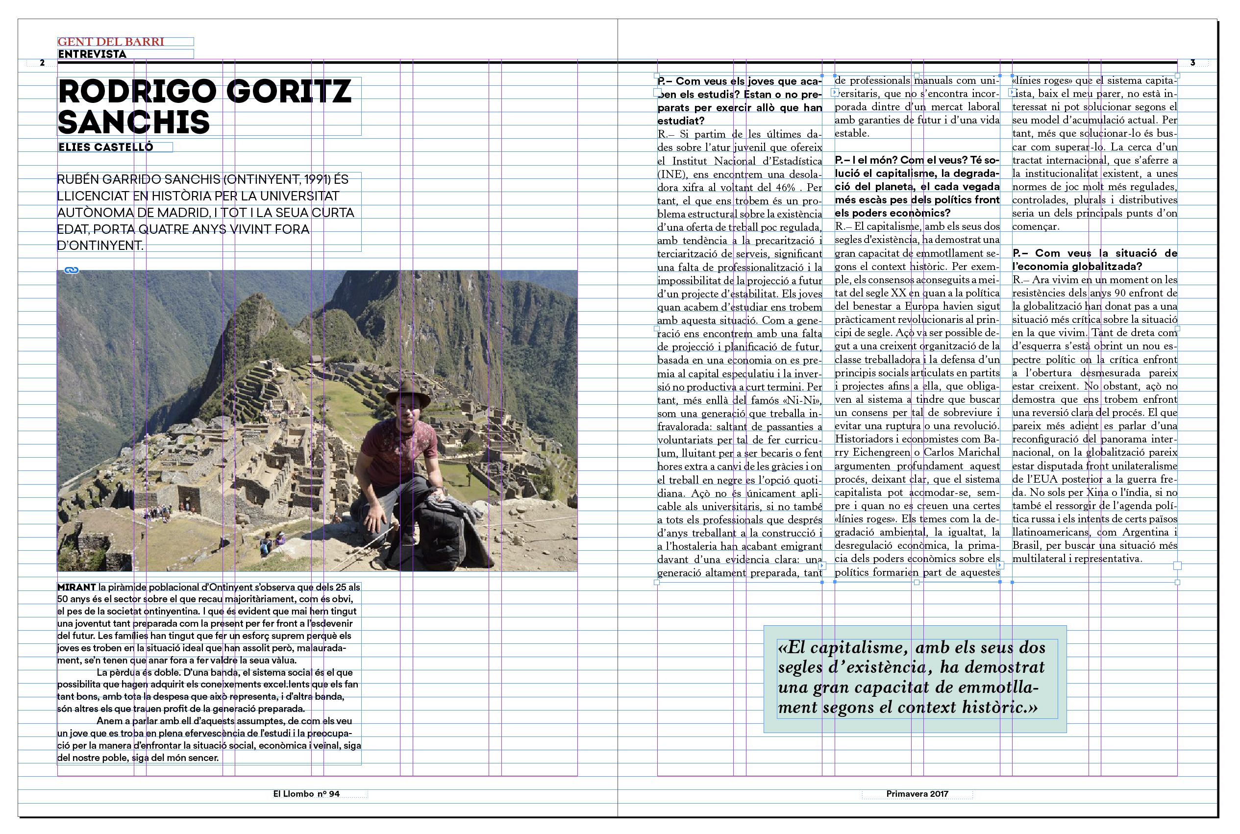maquetación y diseño editorial