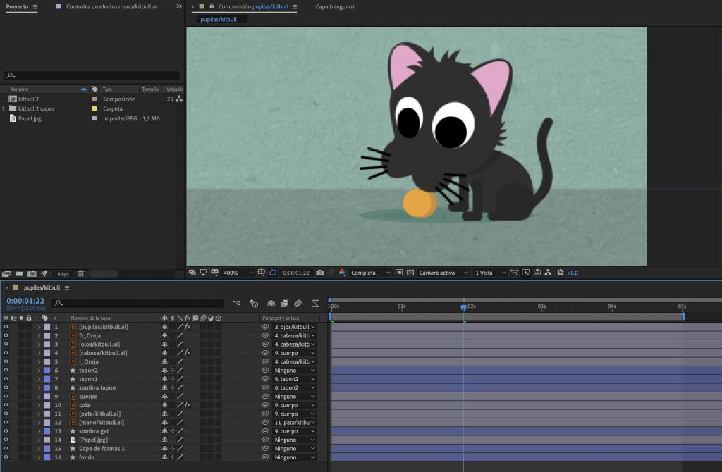 Animaciones Cortas Con After Effects Flujo De Trabajo Pilaf Estudio